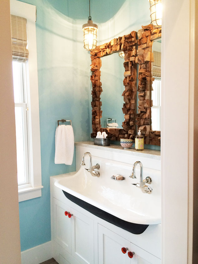 Things We Love Cast Iron Sinks In The Bathroom Design