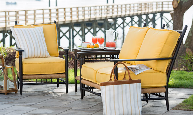 sunbrella performance fabrics indoors and out design chic