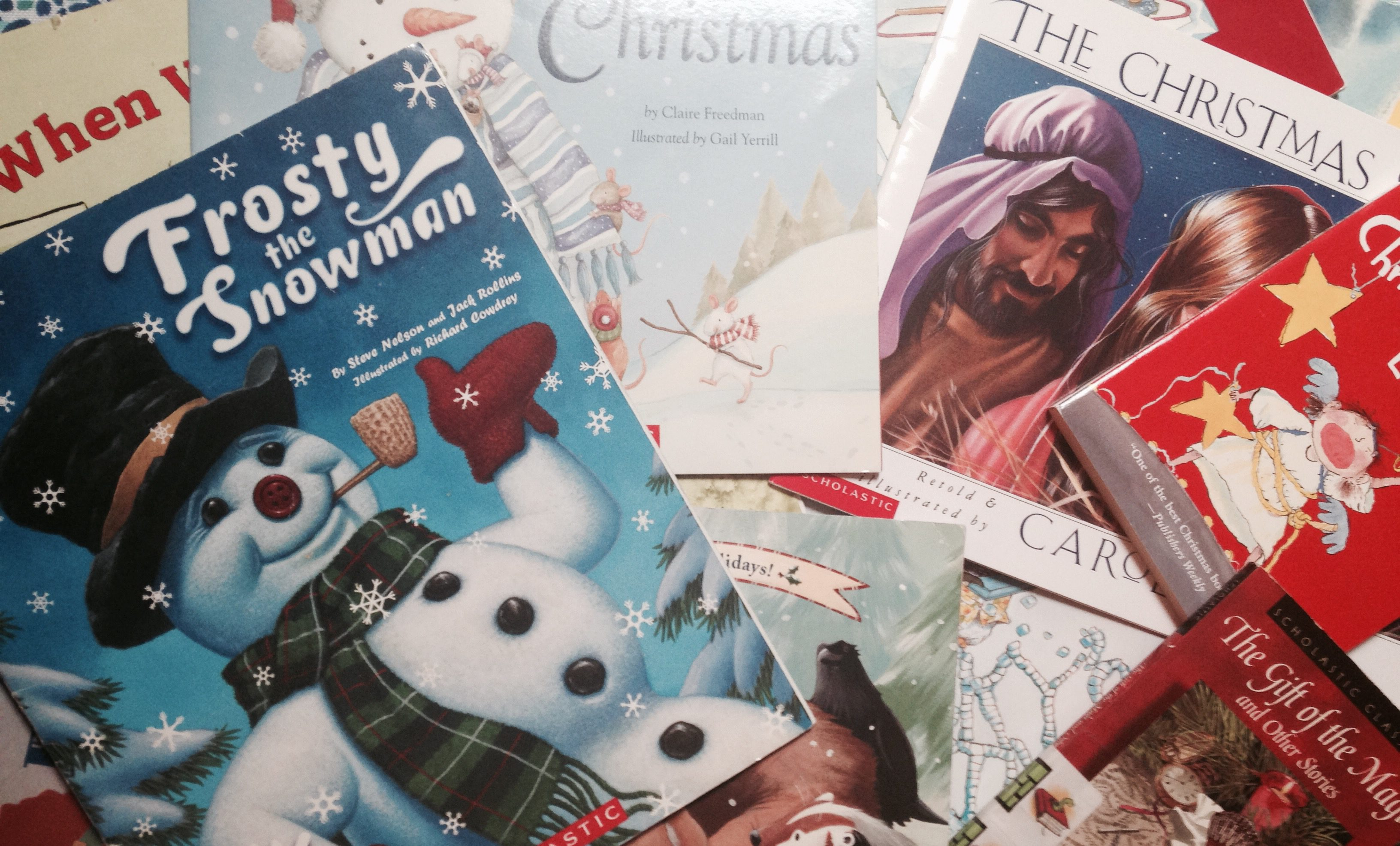 in the hustle and bustle read a story to your students - Best Christmas Stories