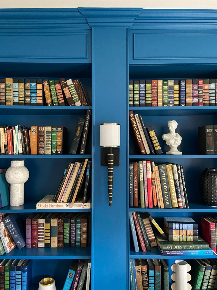 Home Library Room Reveal | Spring 2021 ORC