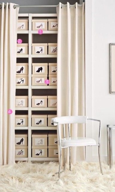 Creative storage ideas for shoes4