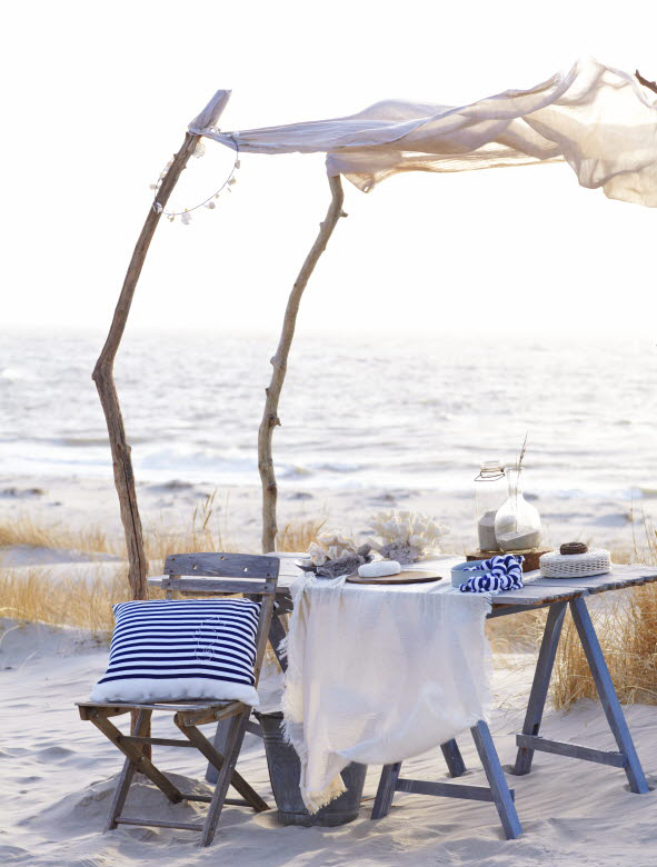 Summer beach decor inspirations