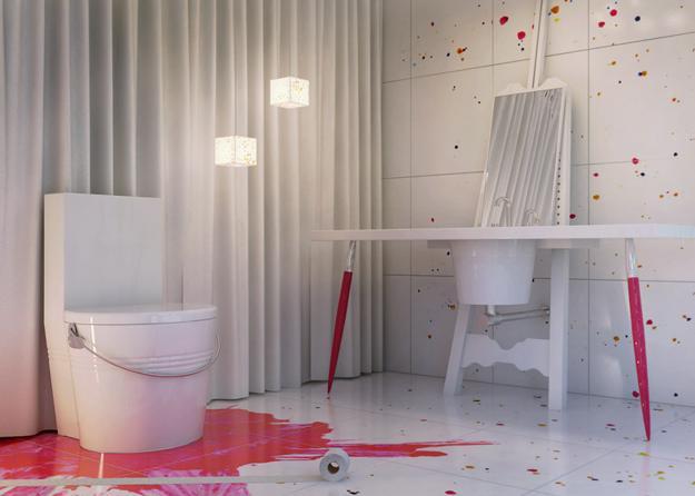 painting inspired interior design decoration5
