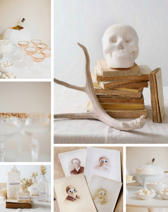 Black and white Halloween ideas15
