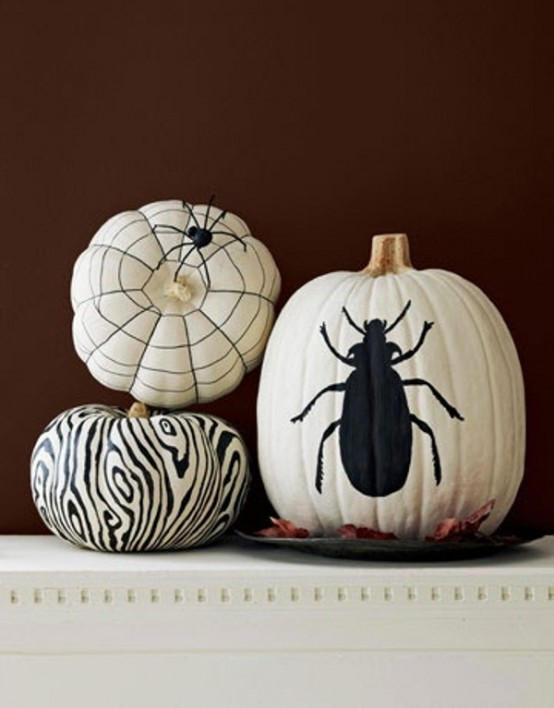 Black and white Halloween ideas17