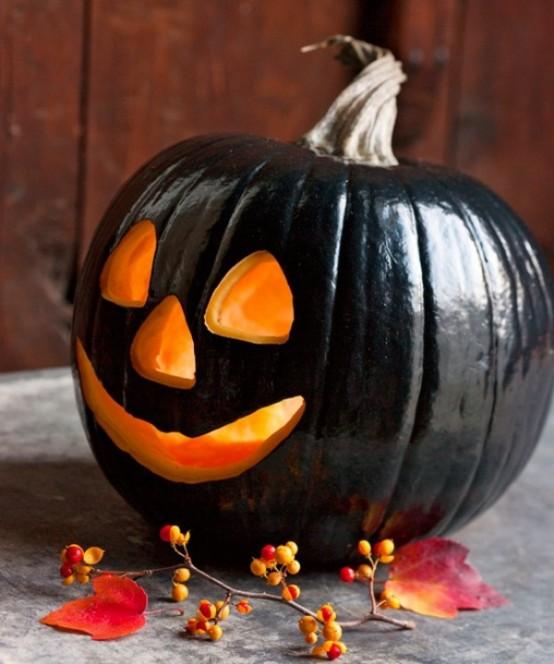 Black and white Halloween ideas2