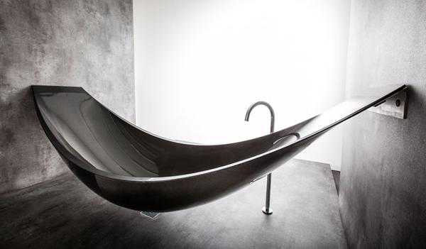 Vessel Futuristic bathtub hammock for total relaxation1