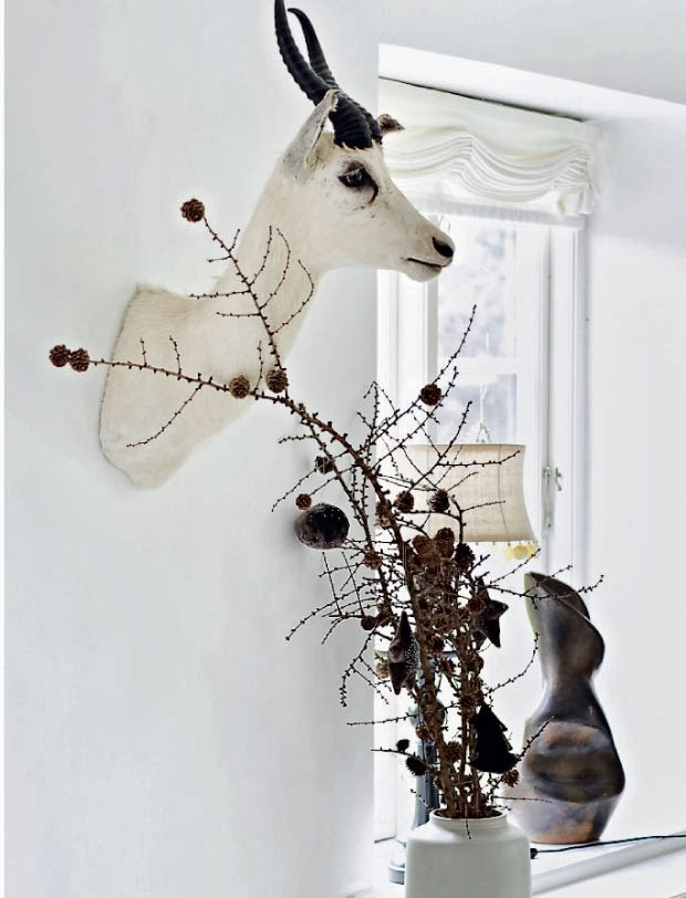 Christmas atmosphere and Spirit  in a beautiful Denmark home4