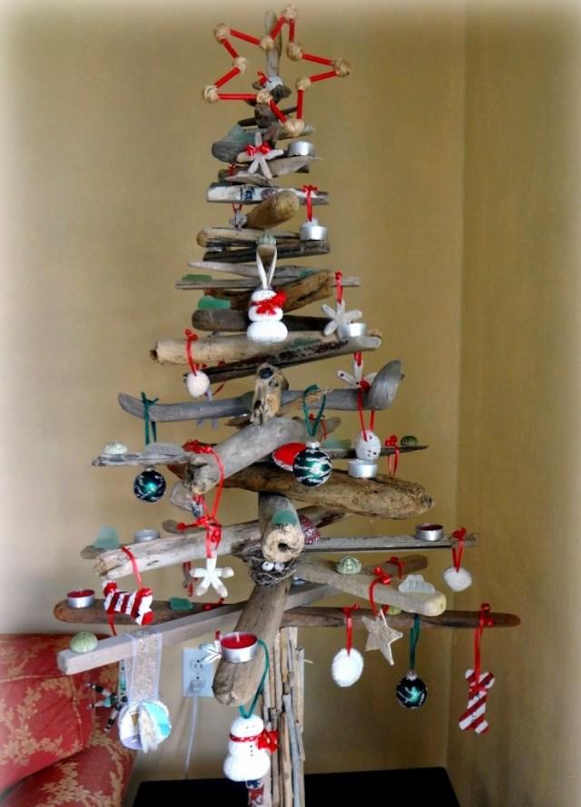 wooden Christmas tree ideas10