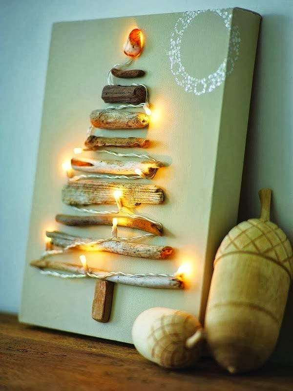 wooden Christmas tree ideas20