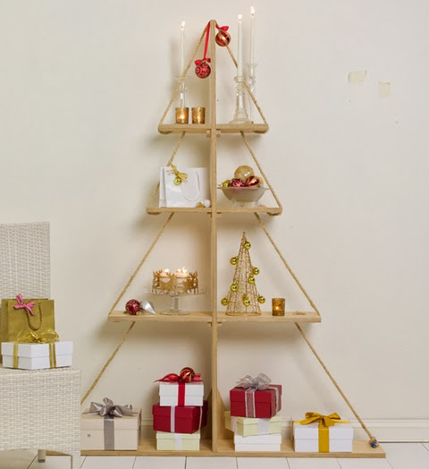 wooden Christmas tree ideas7