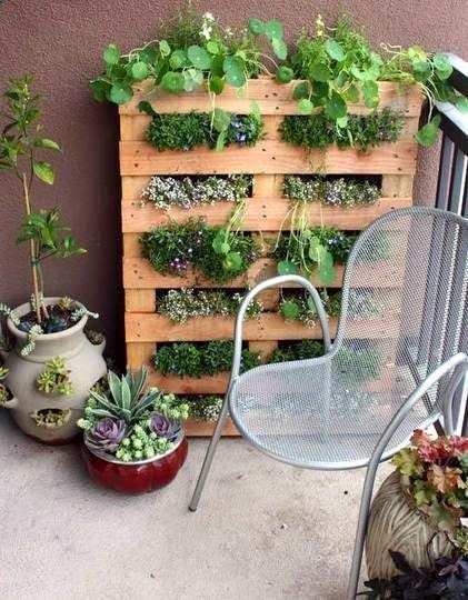 Ideas for small gardens - Balconies22