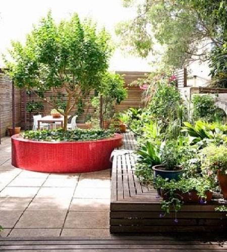 Ideas for small gardens - Balconies26
