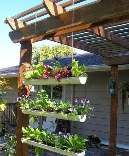 Ideas for small gardens - Balconies38
