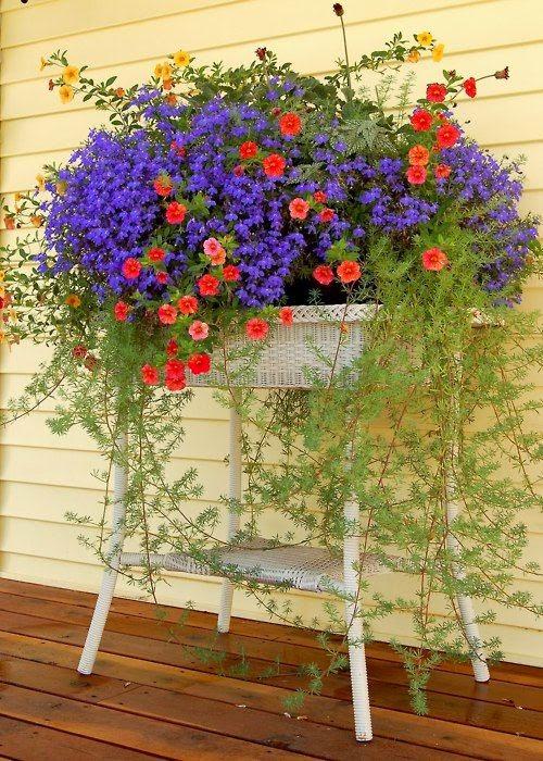 Ideas for small gardens - Balconies9