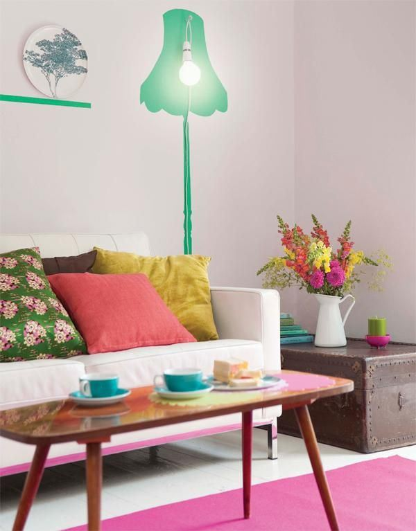 Colourful spaces with playful style2