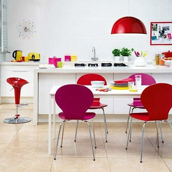 Colourful spaces with playful style3
