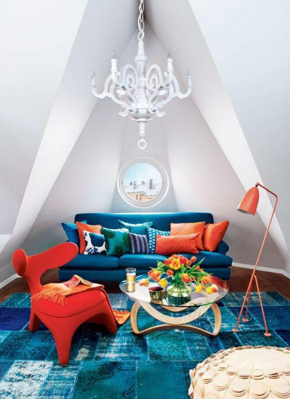 Colourful spaces with playful style5