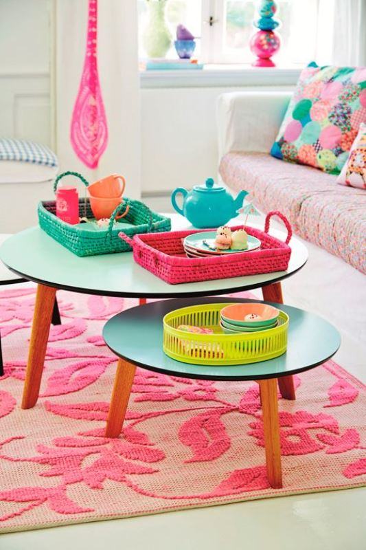 Colourful spaces with playful style7