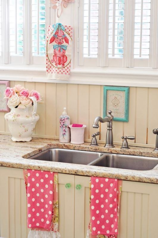 ideas for girly style in the kitchen3
