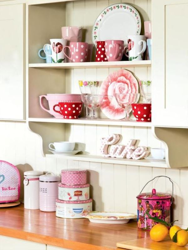 ideas for girly style in the kitchen4