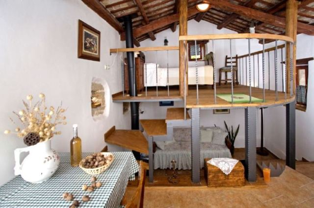Adorable little rustic house in a small village8