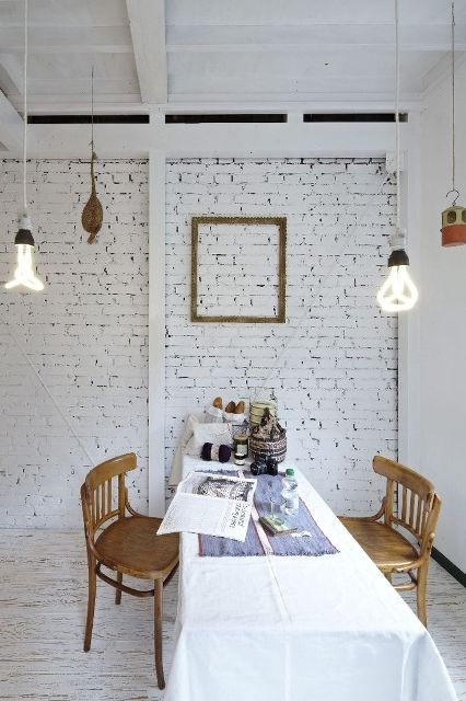 White Brick walls3