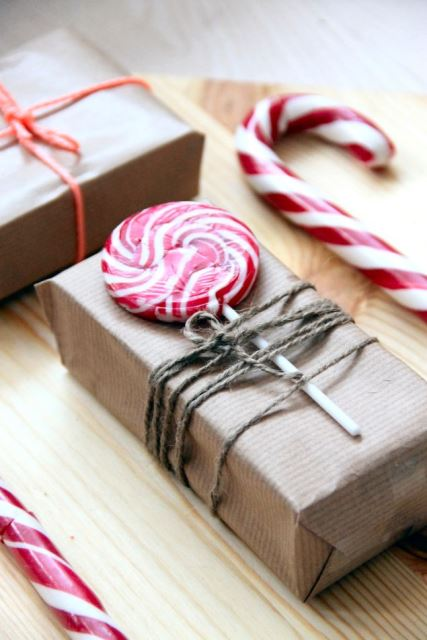 ideas to Wrap your Christmas gifts5