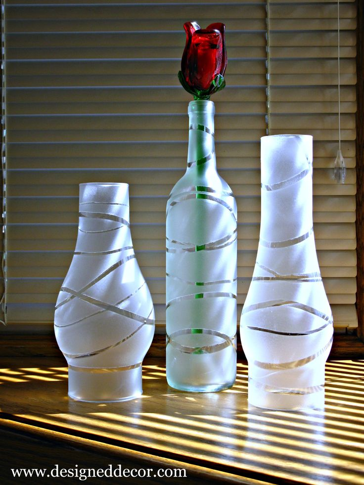 DIY home decoration with flowers in the bottle3