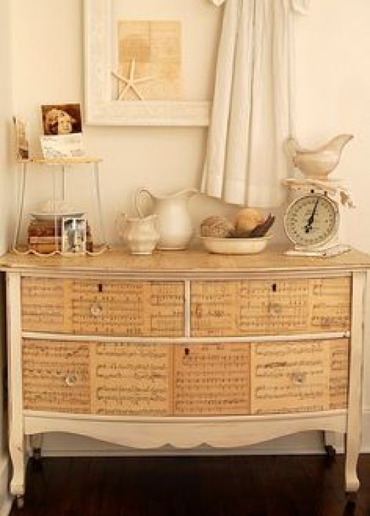 Furniture decoupage ideas7