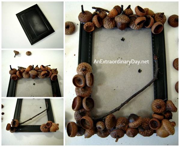 decorative autumn crafts with acorns2