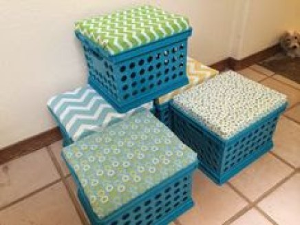 crafts with plastic crates15