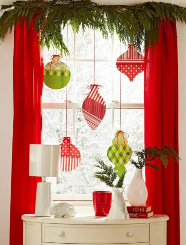 Window decorations for Christmas10