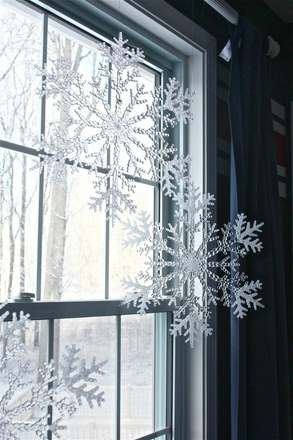 Window decorations for Christmas18