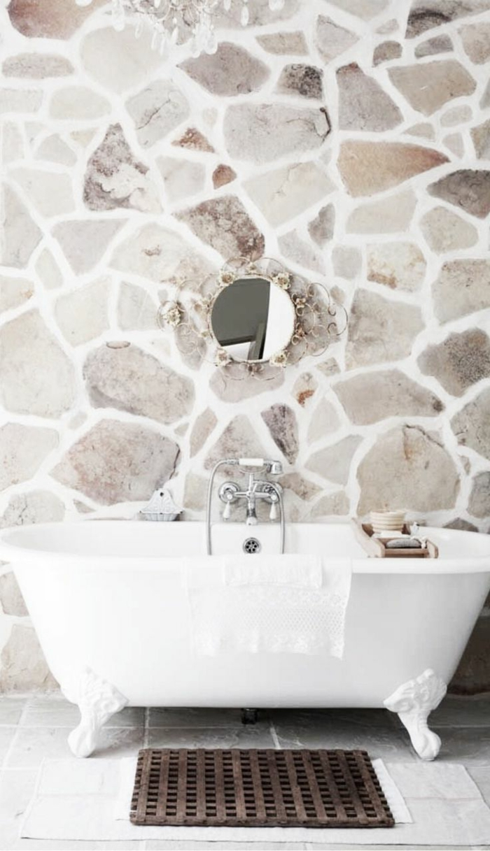 Exposed stone wall ideas20