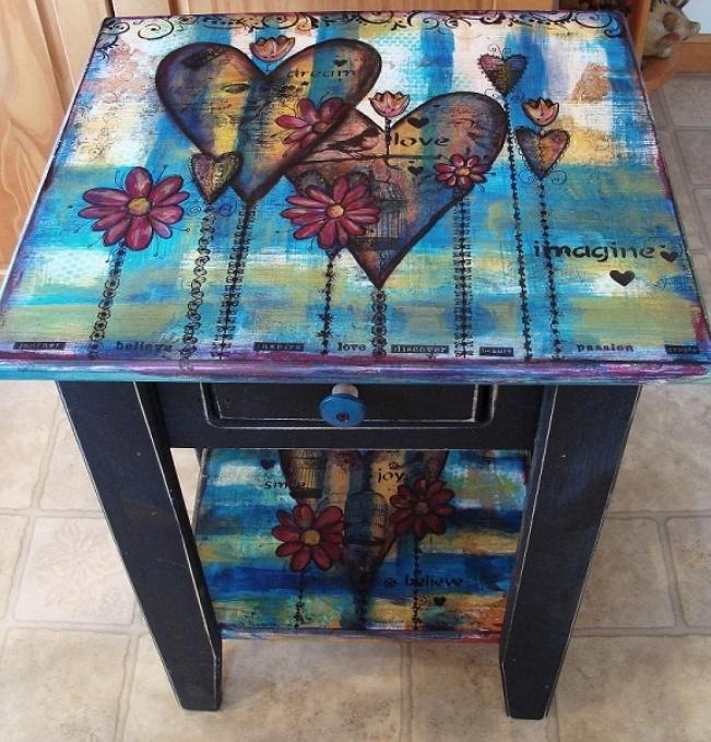 Furniture Decoupage ideas19