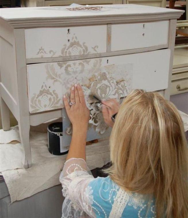 Furniture Decoupage ideas3