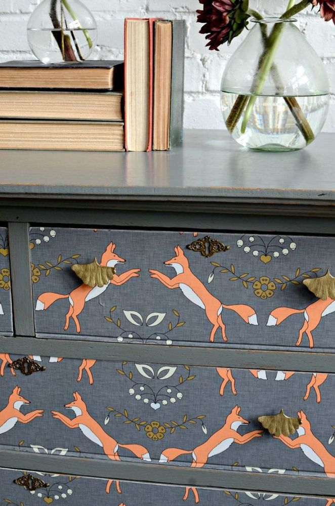 Furniture Decoupage ideas36
