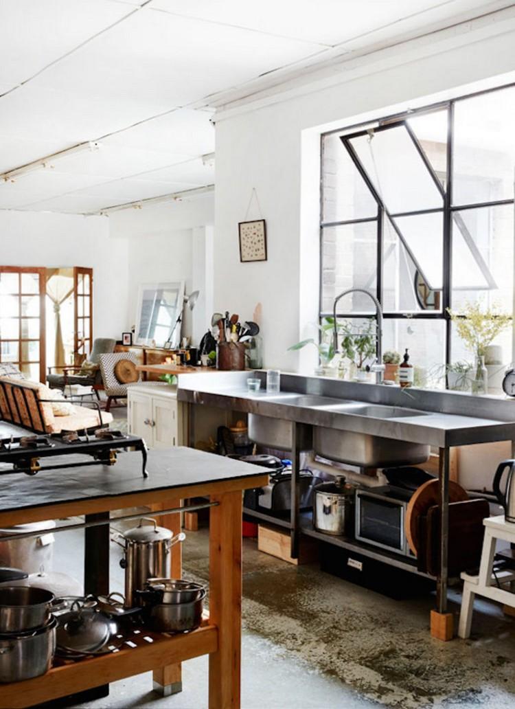 industrial kitchen ideas (19)