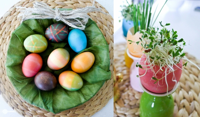 Diy Easter decoration ideas with Easter eggs4