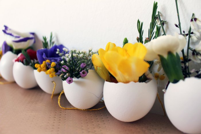 Diy Easter decoration ideas with Easter eggs5