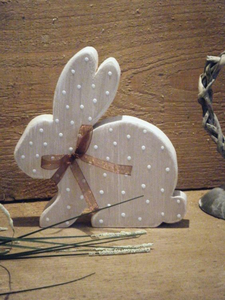 Easter decorations made of wood7
