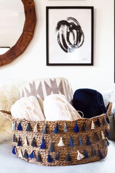 Summer Baskets decoration ideas12