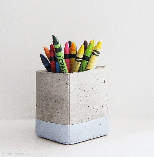 DIY decorative ideas with cement (20)