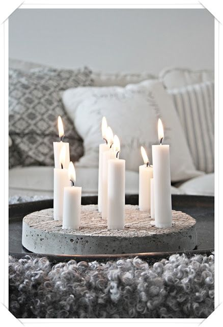 DIY decorative ideas with cement (7)