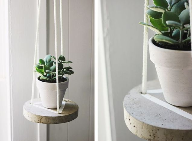 DIY decorative ideas with cement (9)