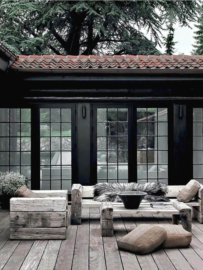 Rustic garden furniture9