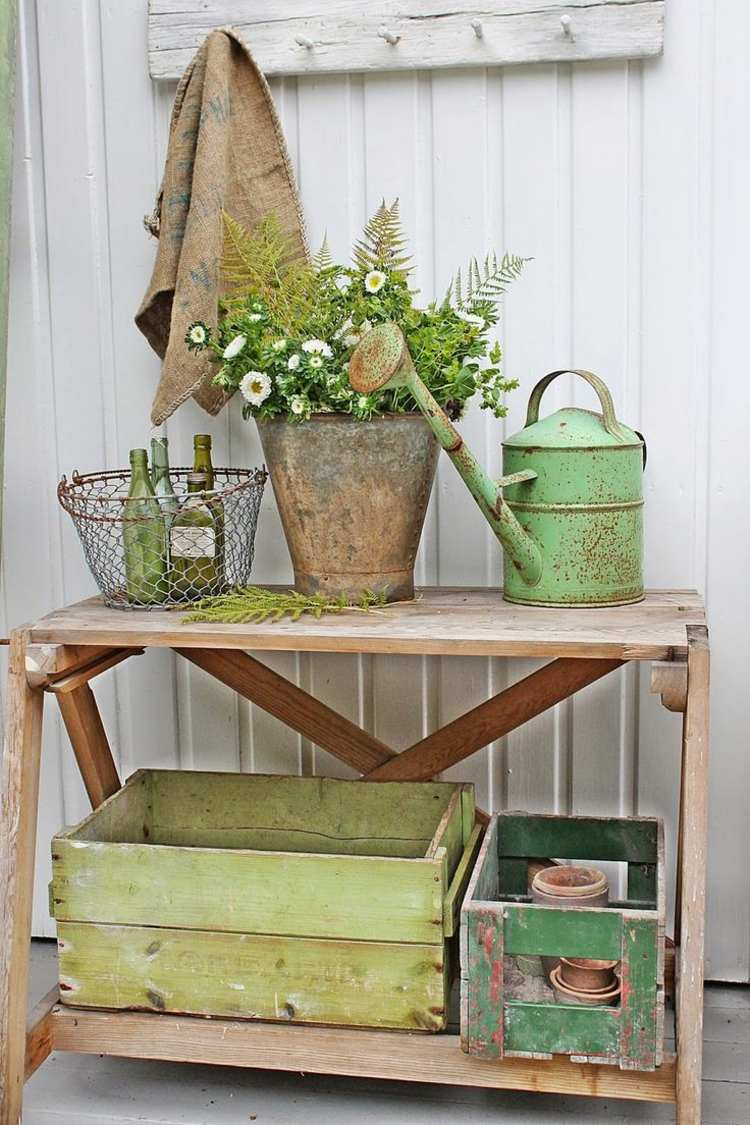 Shabby Chic garden decoration (12)