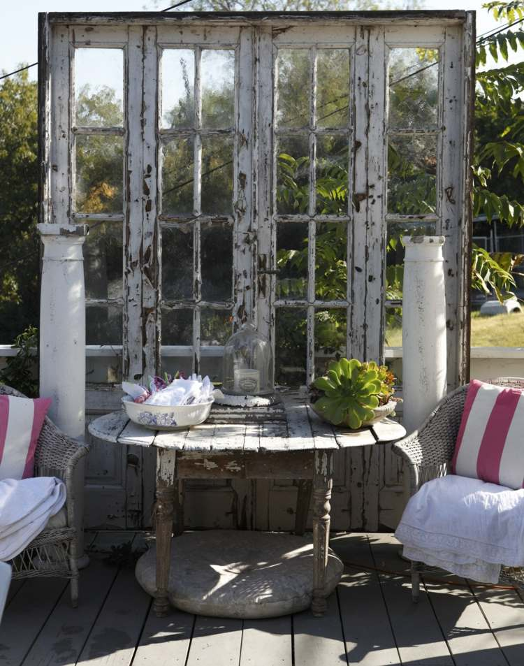 Shabby Chic garden decoration (7)