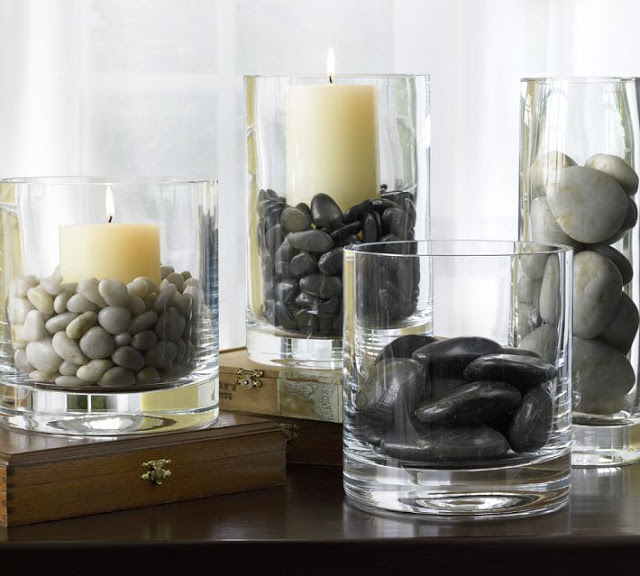 decorate your house with river stones3